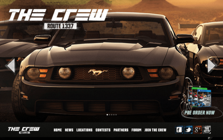 The crew route 1337 home