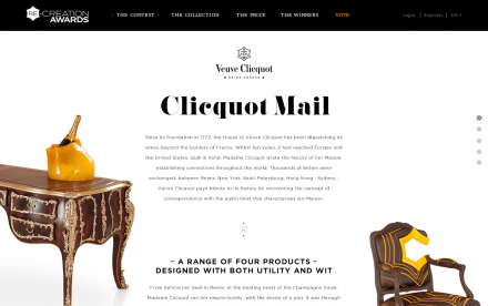 Veuve clicquot home